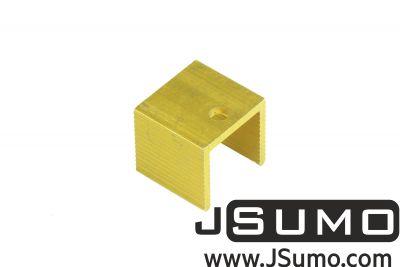 - Aluminum TO 220 Heat Sink (18mm x 17mm x 16mm) (1)