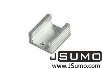 - Aluminum TO 220 Heat Sink (18mm x 21mm x 10mm)