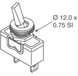 APEM High Quality Toogle Switch - Thumbnail
