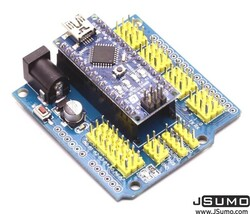 Arduino Nano Carrier Board (Without Arduino Nano) - Thumbnail