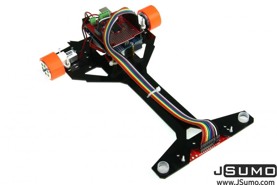 Arduino Pid Based Line Follower Robot Kit