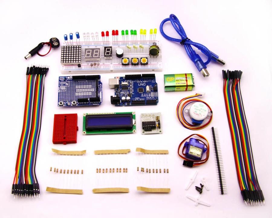 Arduino Uno Advanced Kit (SMD Clone Uno)