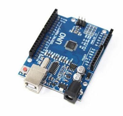 Arduino - Arduino UNO R3 Clone + USB Cable - (CH340 USB Driver, SMD Model)