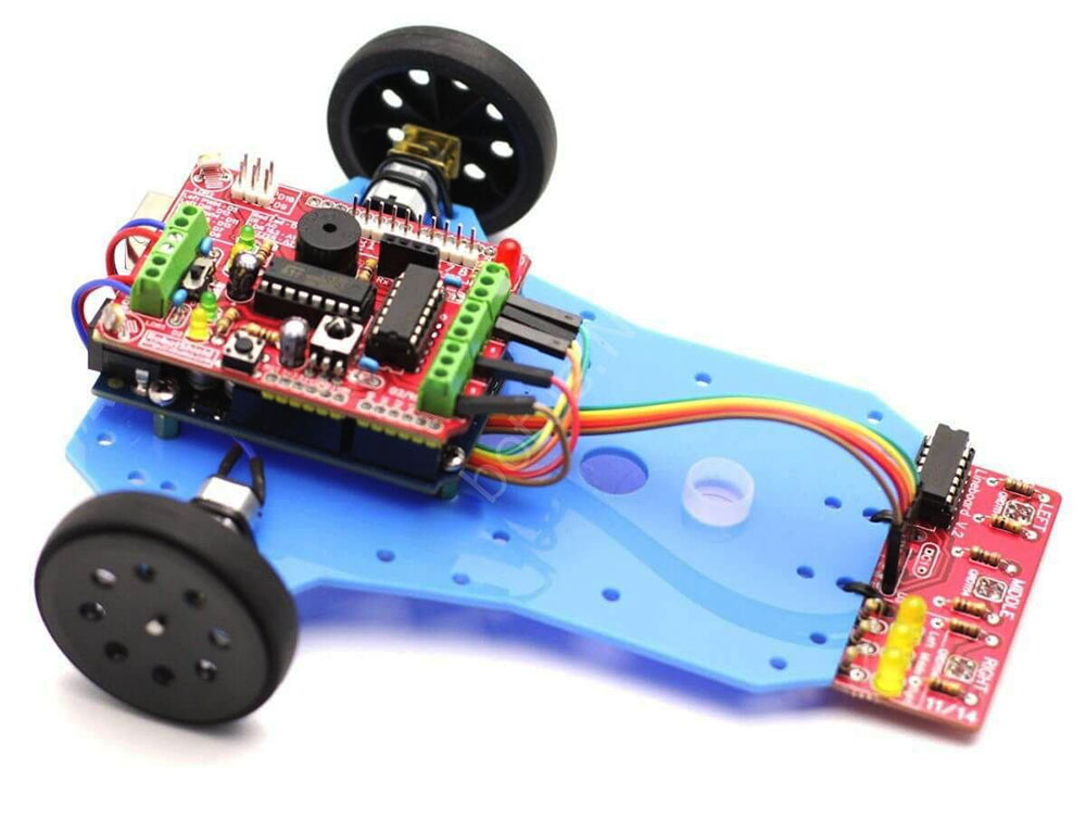 ArduLine Basic Line Follower Robot Kit