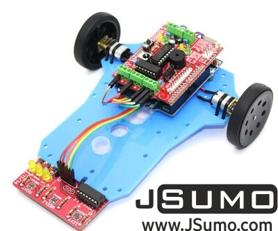 Jsumo - ArduLine Basic Line Follower Robot Kit (1)