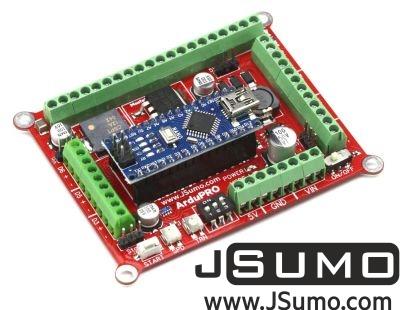 Jsumo - ArduPRO Robot Controller (With Arduino Nano)