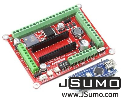 Jsumo - ArduPRO Robot Controller (With Arduino Nano) (1)