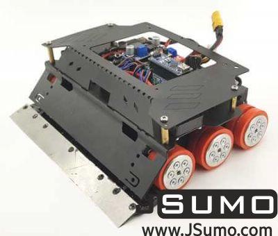 Jsumo - ARES 6x6 Sumo Robot