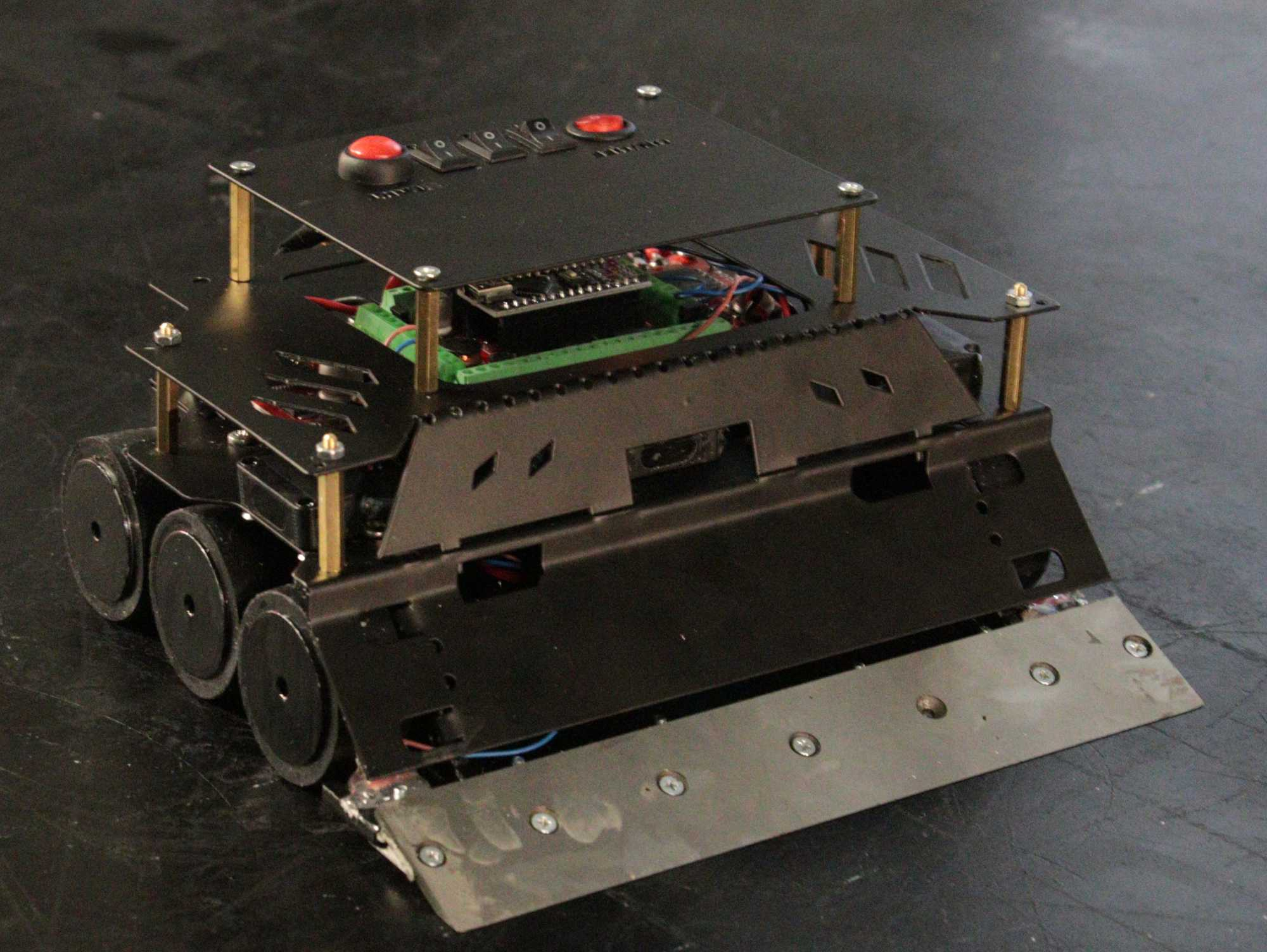 ARES 6x6 Sumo Robot