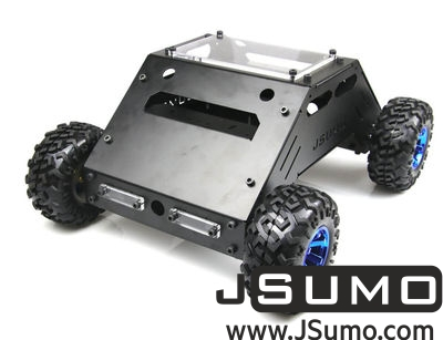 Jsumo - ATLAS All Terrain Robot 4x4 (High Speed // Mechanical Kit - No Electronics)