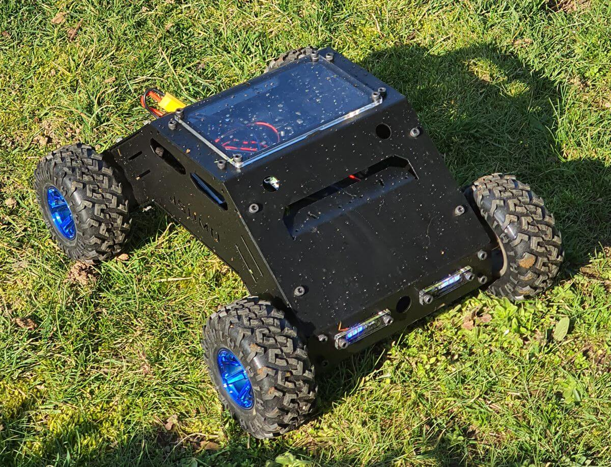 ATLAS All Terrain Robot 4x4 (High Speed // Mechanical Kit - No Electronics)