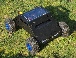 ATLAS All Terrain Robot 4x4 (High Speed // Mechanical Kit - No Electronics) - Thumbnail