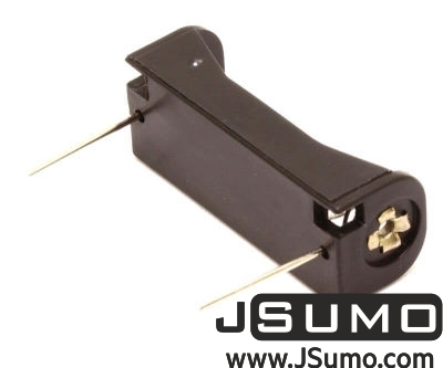 Jsumo - Battery Holder 1 x 23A (12V Battery - PCB Mount) (1)