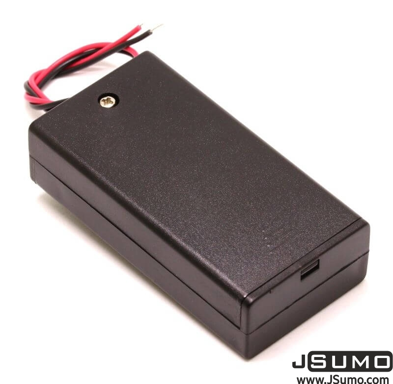 Battery Holder 2 x AA with Cover