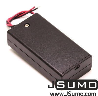 Jsumo - Battery Holder 2 x AA with Cover