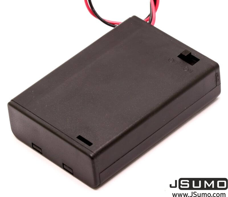 Battery Holder 3 x AA with Cover and Switch