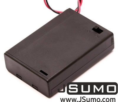 Jsumo - Battery Holder 3 x AA with Cover and Switch (1)