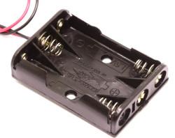 Battery Holder 3 x AAA - Thumbnail