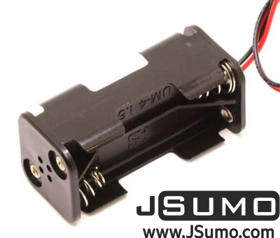 Jsumo - Battery Holder 4 x AAA (2x2 Type) (1)