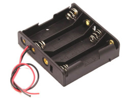 Battery Holder 4 x AA - Thumbnail