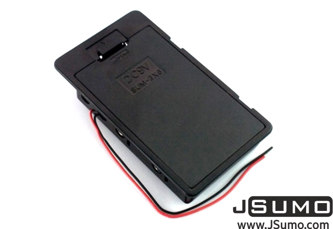 Battery Holder 6xAA w/Cover
