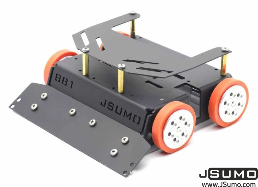 BB1 Midi Sumo Robot Kit (15x15 - 1.5Kg) (No Electronics)