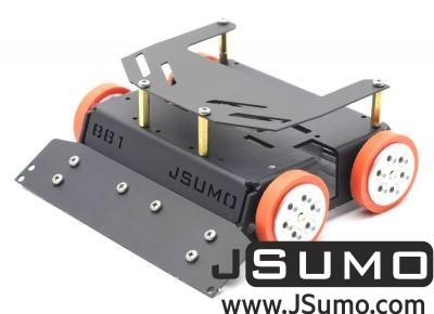 Jsumo - BB1 Midi Sumo Robot Kit (15x15 - 1.5Kg) (No Electronics)