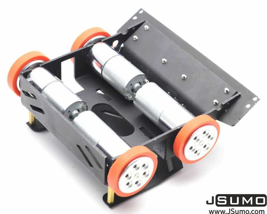 BB1 Midi Sumo Robot Kit (15x15 - 1.5Kg) (No Electronics)