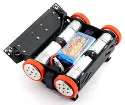BB1 Midi Sumo Robot Kit (15x15cm - Assembled) - Thumbnail