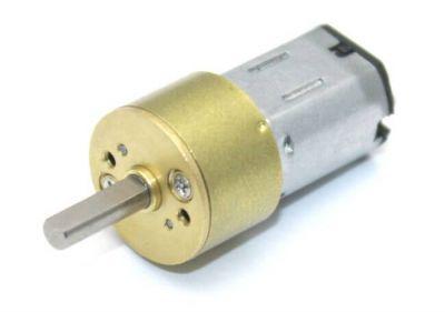 - Carbon Microgear Dc Motor 6V 375RPM (1)