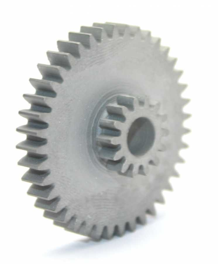 Concentric Double Gear (0,8 Module - 14-40 Tooth)