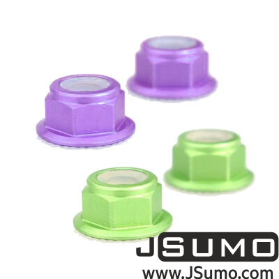 - CW/CCW Nut Set For MT2204-MT2205-RS2205 (4 Pcs) Purple-Green