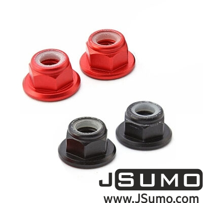 - CW/CCW Nut Set For MT2204-MT2205-RS2205 (4 Pcs) Red-Black