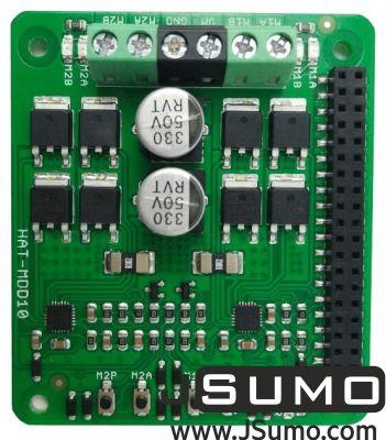 CYTRON - Cytron 2x10A Motor Driver HAT For Rasberry PI (1)