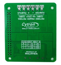 Cytron 2x10A Motor Driver HAT For Rasberry PI - Thumbnail