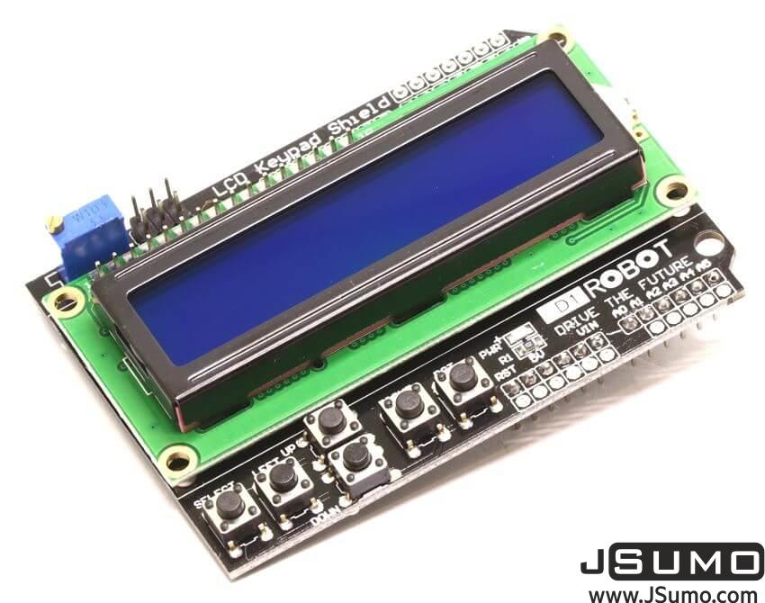 DFRobot LCD Keypad Shield