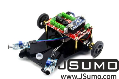 Jsumo - Diano Arduino Based Voice Controlled Robot Kit