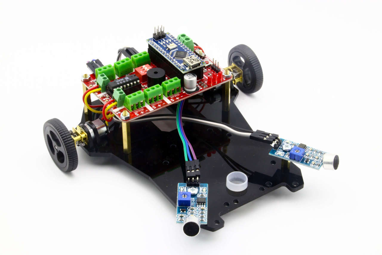 Diano Arduino Based Voice Controlled Robot Kit
