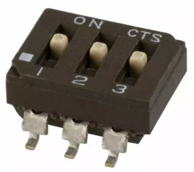 CST - Dipswitch SMD 3 Pos.