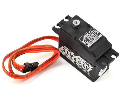DS1240 Titanium Gear High Speed Digital Servo