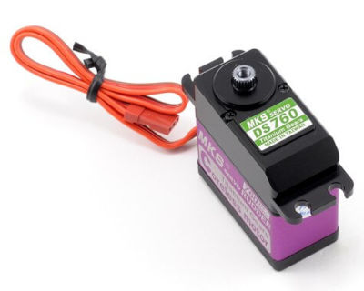 MKS - DS760 Titanium Gear Ultra Speed Digital Servo