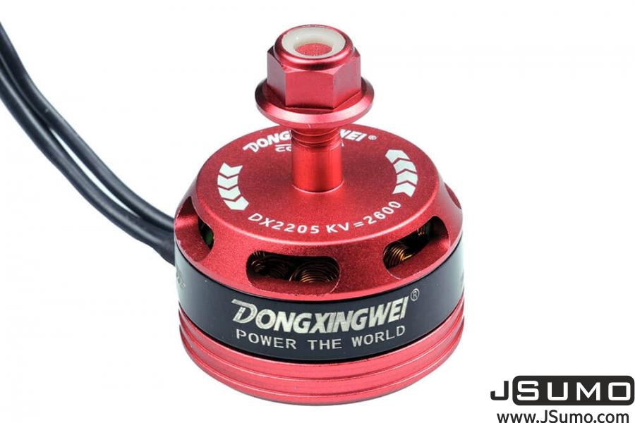 DX2205 2600KV CW/CCW Racing Brushless Motor Set