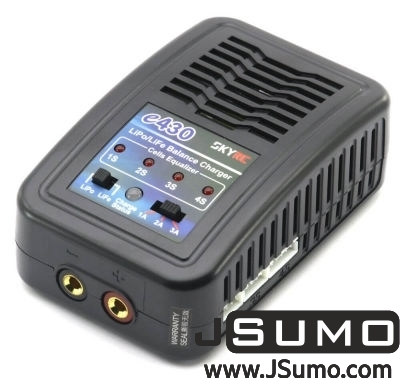 - E430 AC Input 3Amp 30Watts LiPo (2S-4S) Charger (1)