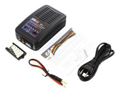 - E6 5Amp 50Watts LiPo/LiFe 2-6S Charger AC Input (1)