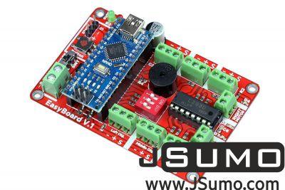Jsumo - Easyboard v1.0 Arduino Robot Controller (With Arduino Nano)