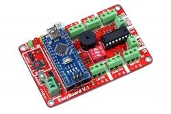 Easyboard v1.0 Arduino Robot Controller (With Arduino Nano) - Thumbnail