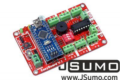 Jsumo - Easyboard v1.0 Arduino Robot Controller (With Arduino Nano) (1)