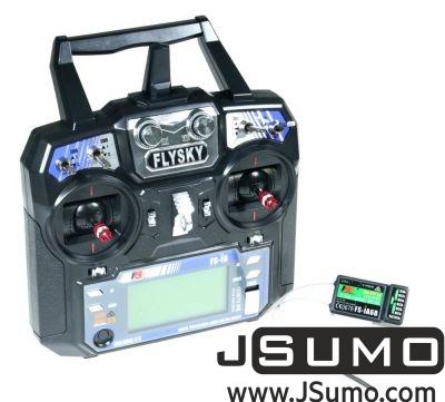 - FLYSKY I6 2.4 Ghz 6 Channel Remote Kit (Transmitter & Receiver)