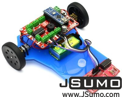 Jsumo - Mini LineBot Arduino Based Line Follower Robot Kit