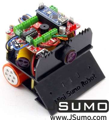 Jsumo - FROG Mini Sumo Robot Kit